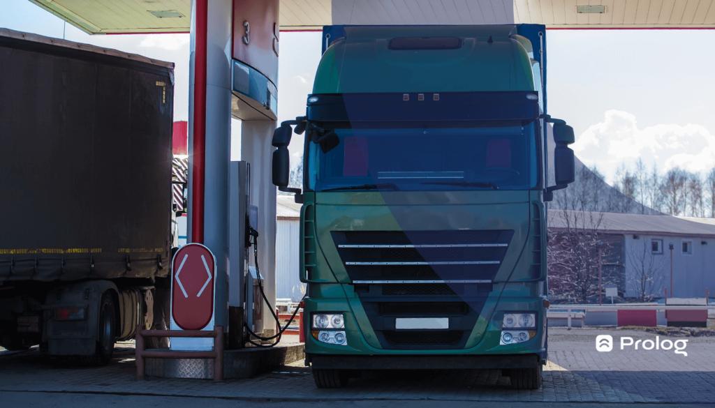 A gestão de pneus ajuda a reduzir o consumo de combustível.