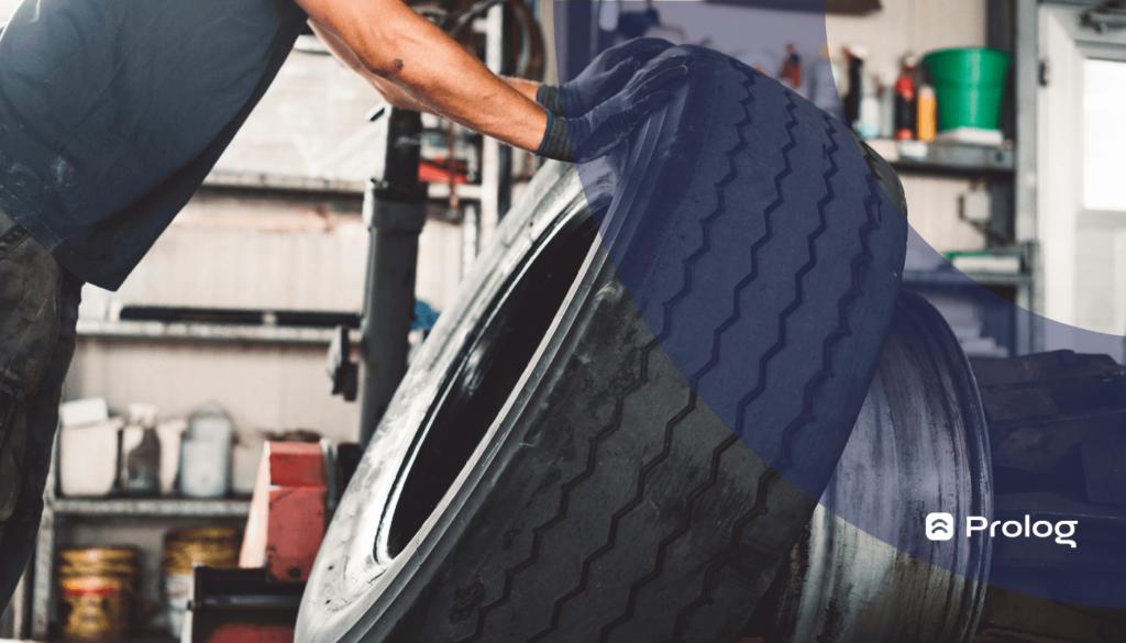 qual a relação entre gestão de pneus e custos operacionais da frota?