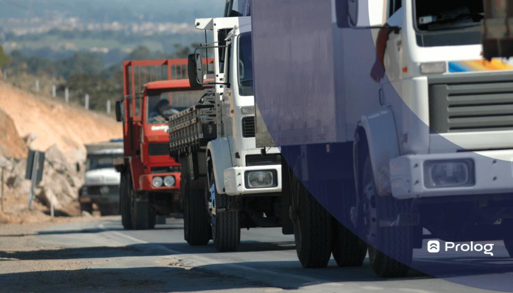 principais riscos do transporte de cargas