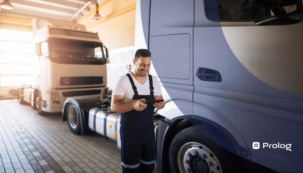 Entenda a gestão de frota de caminhões.