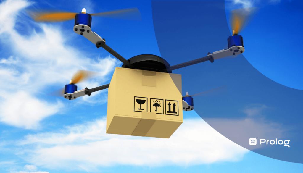 como realmente funciona a entrega por drones